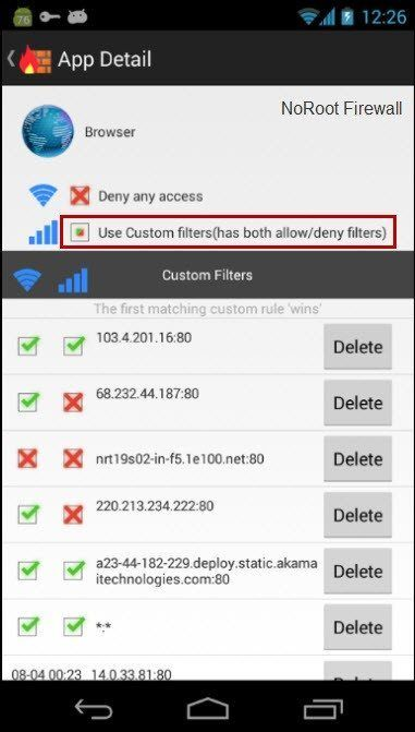 android-no-root-firewall-filters