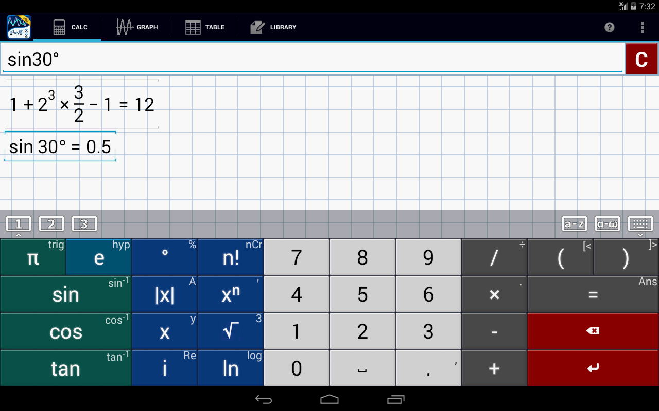 تطبيق Graphing Calculator MathlabPRO