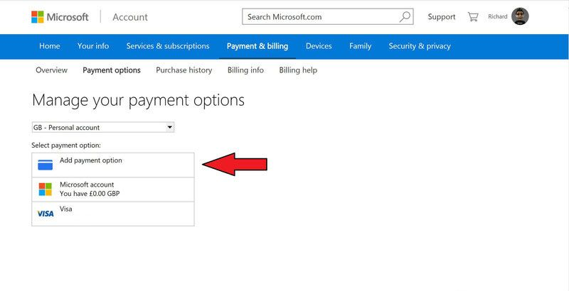 store-account-payment-options