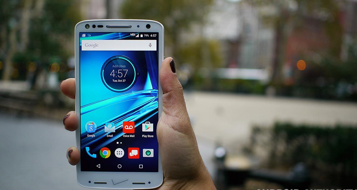 شاشة العرض MOTOROLA DROID TURBO 2